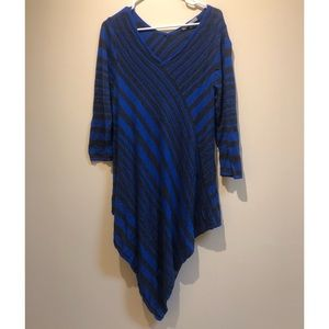 Ny collection 💙 sweater dress / tunic blue & gray
